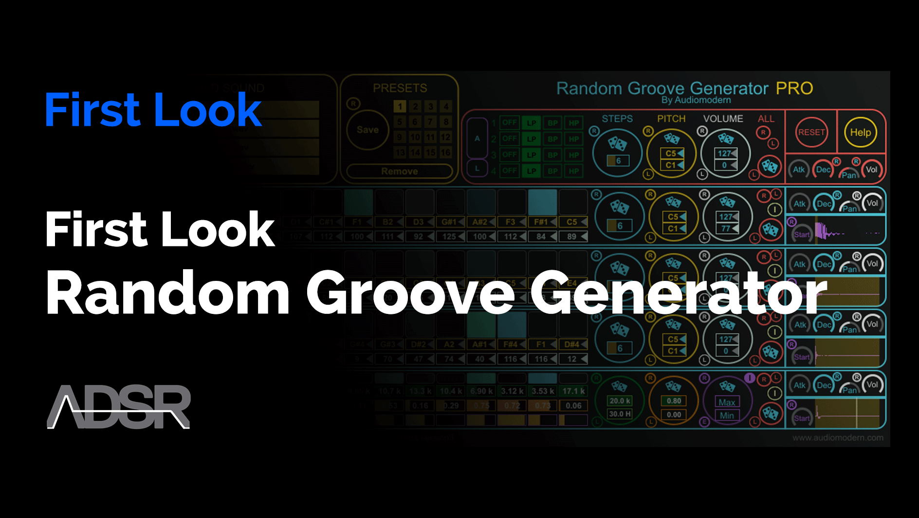 Video related to Random Groove Generator PRO