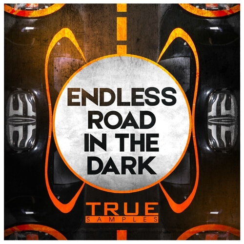 Endless Road In The Dark