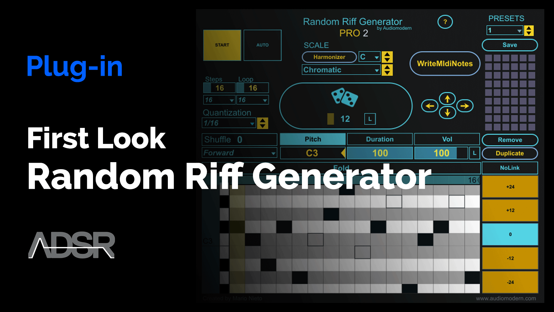 Video related to Random Riff Generator Pro 2