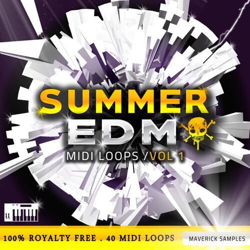 Summer EDM MIDI Loops Vol 1