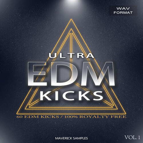 Ultra EDM Kicks Vol 1