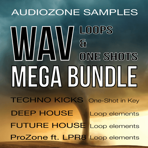 WAV Loops & OneShots Mega Bundle
