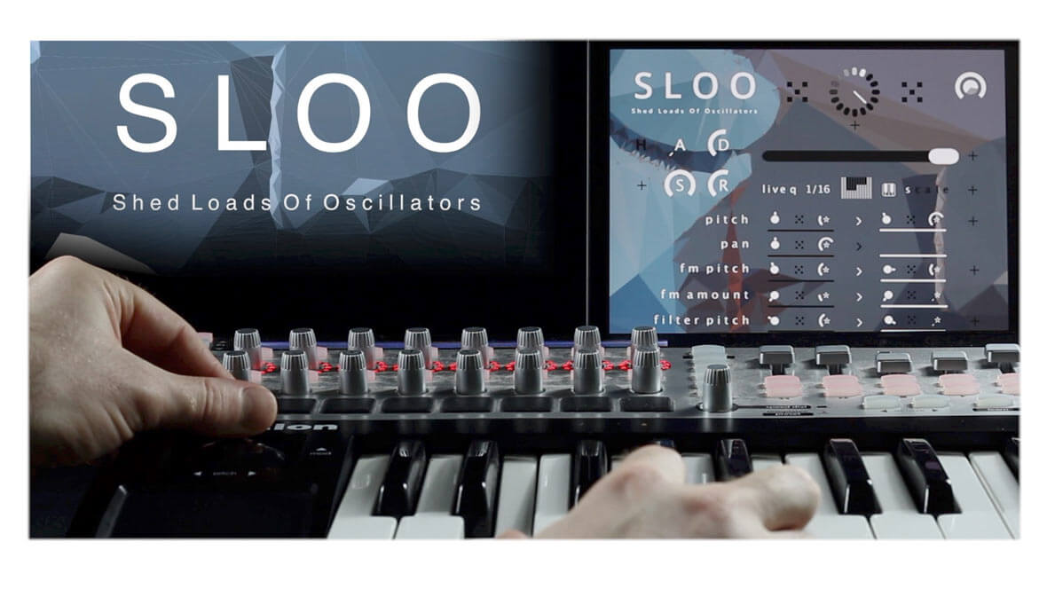 Tim Exile Releases SLOO, A 48-Oscillator Voice Swarm Synth