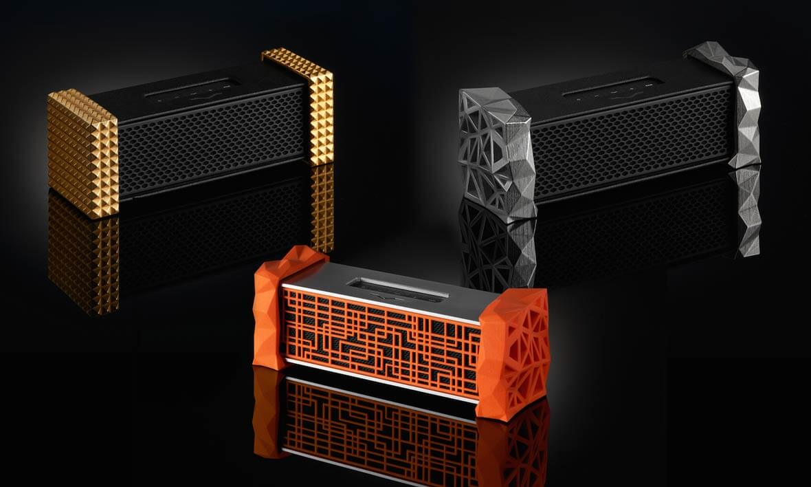 This Bluetooth Speaker Includes A Headphone Amplifier & 3D Printed Customization