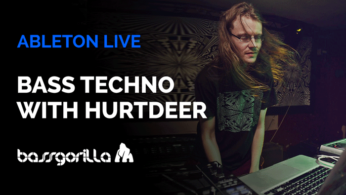 Bass Techno In Ableton Live With Hurtdeer