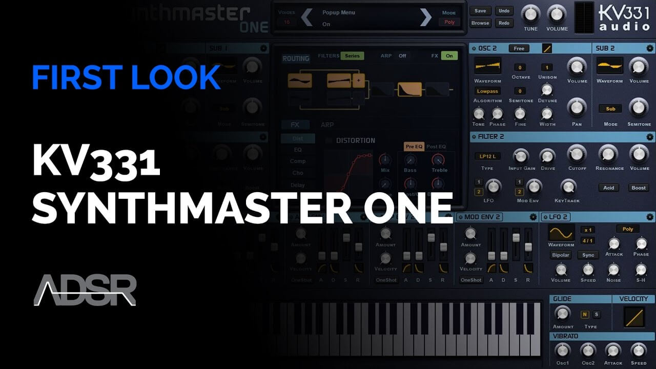 Video related to SynthMaster One