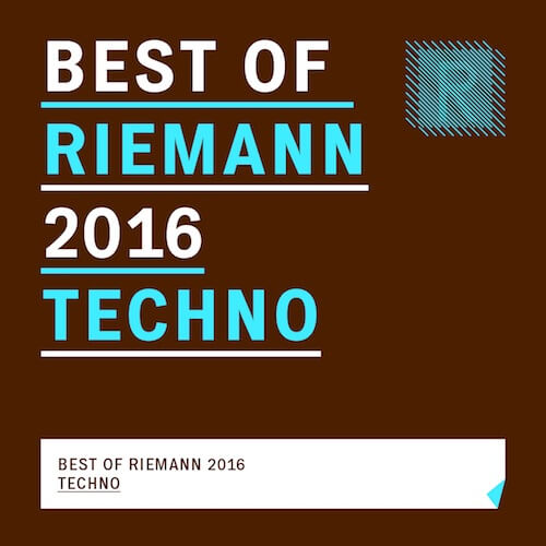 Best of Riemann 2016 Techno