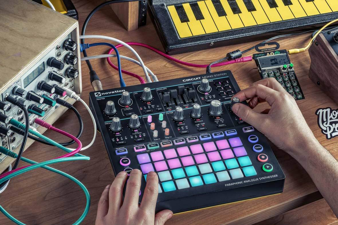 Novation Reveals The Circuit Mono Station Analog Synthesizer
