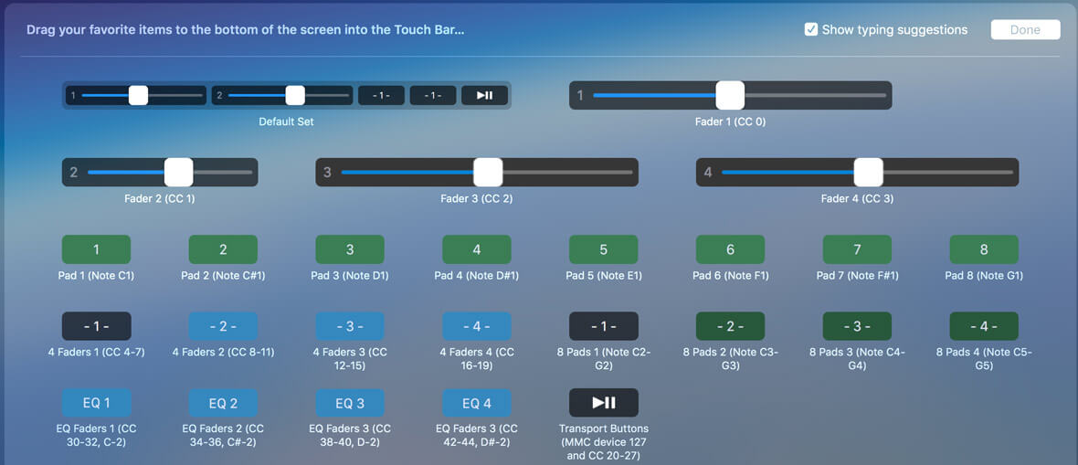 Free Software Turns Macbook Pro Touch Bar Into MIDI Controller