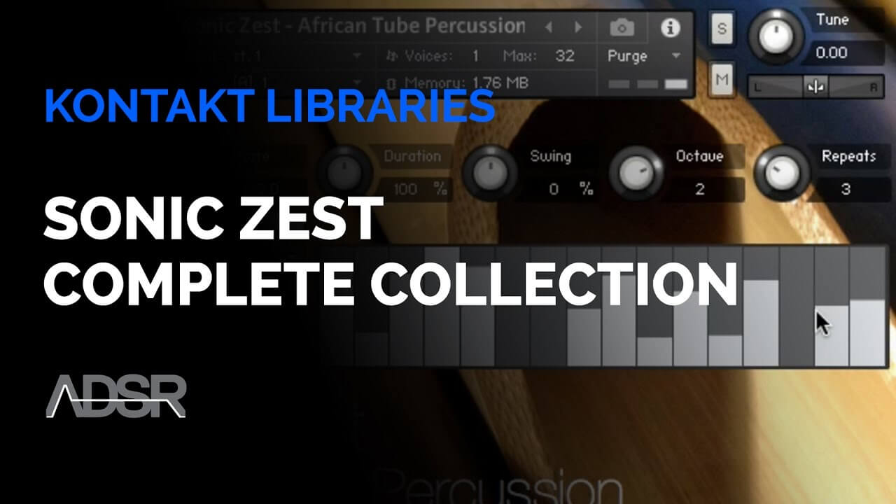 Sonic Zest - The Complete Collection - Kontakt Library