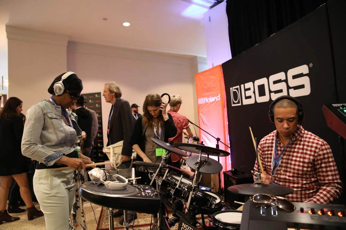 "The ASCAP ""I Create Music"" EXPO Featured Interactive Jam Sessions From Roland"