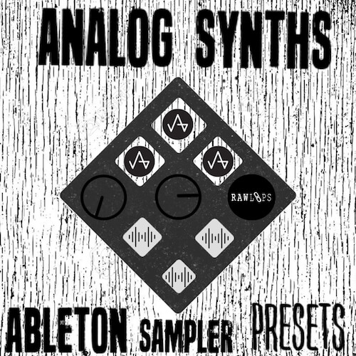 Analog Synths - Ableton Sampler Presets