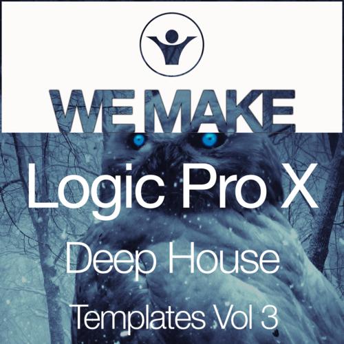We Make Logic Pro X Deep House Templates Vol 3