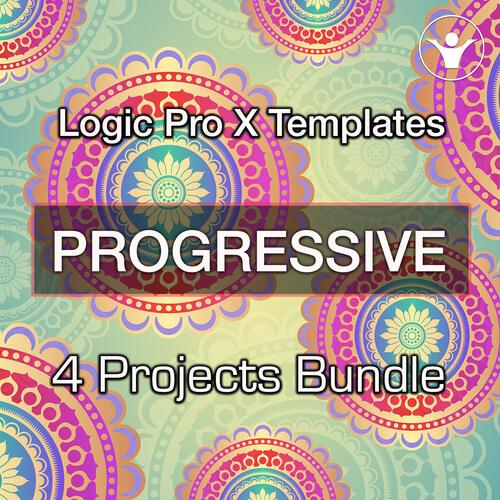 We Make LogicPro X Prog.House Templates Bundle V.1