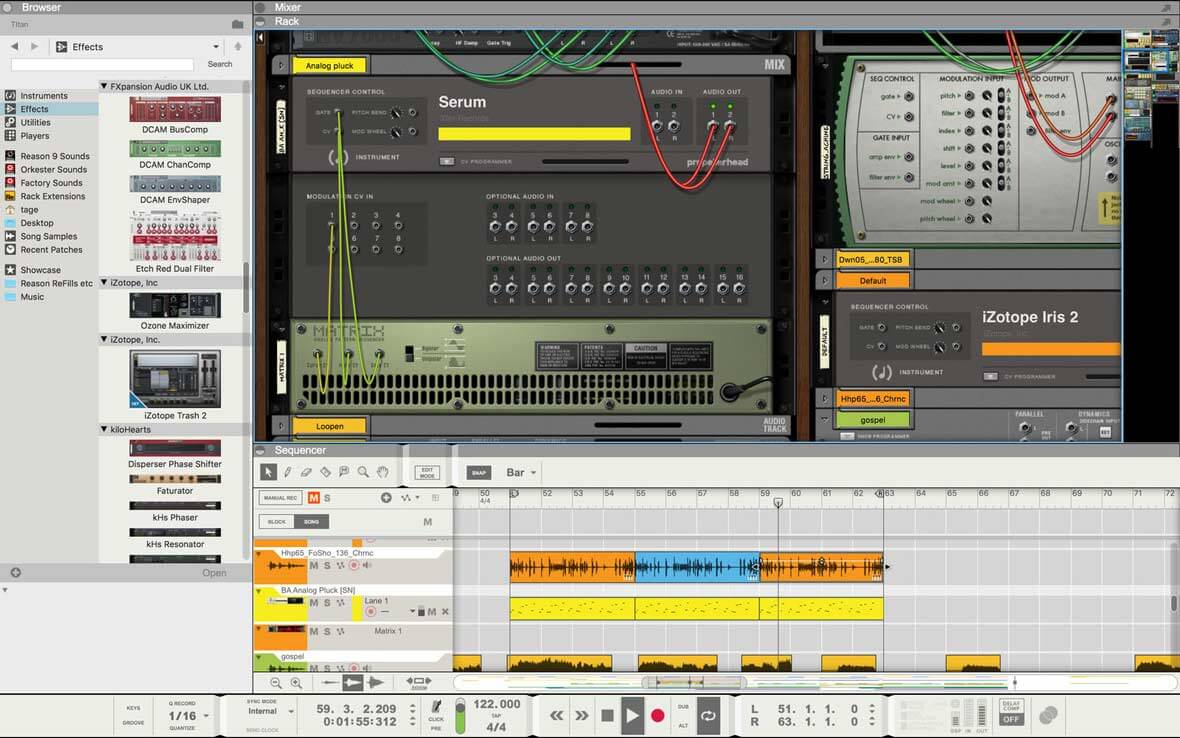 Reason 9.5 Is Available - Introduces VST Support