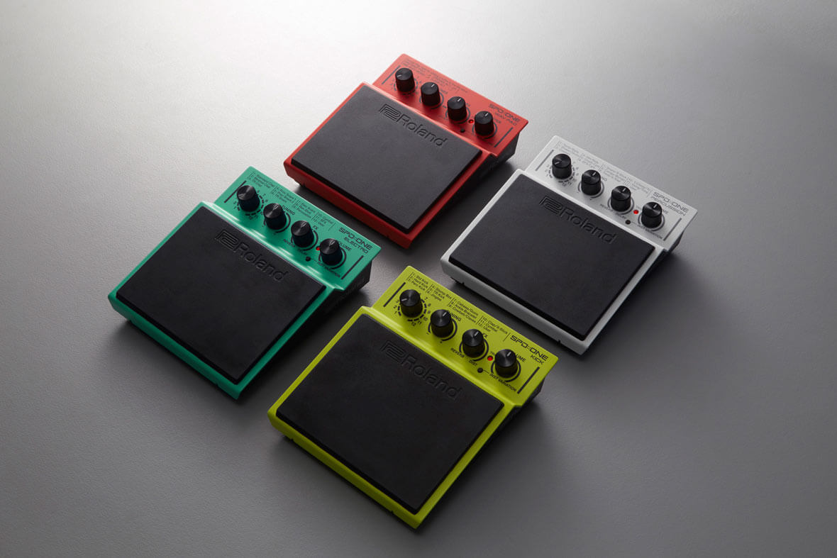 Roland Introduces SPD::ONE, 4 Percussion-Pad Instruments