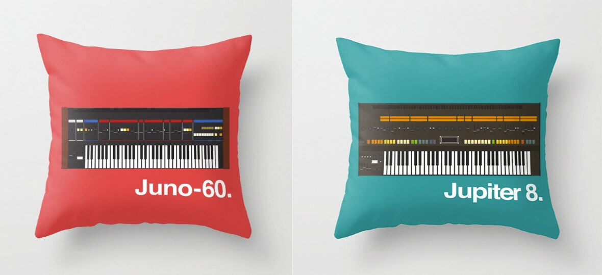 These Synth Pillows Are Perfect For Any Synth Fanatic