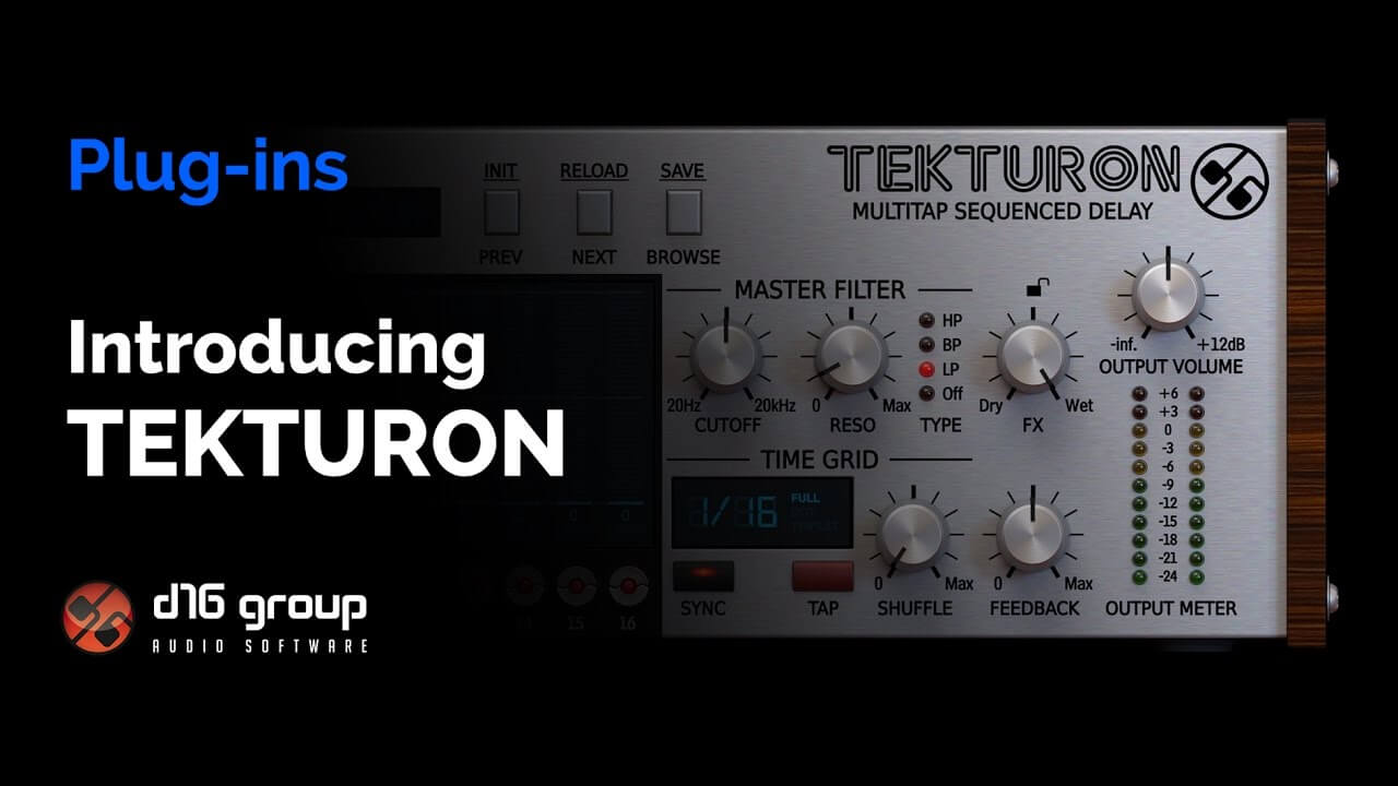 D16 Tekturon Delay - Introduction & Overview