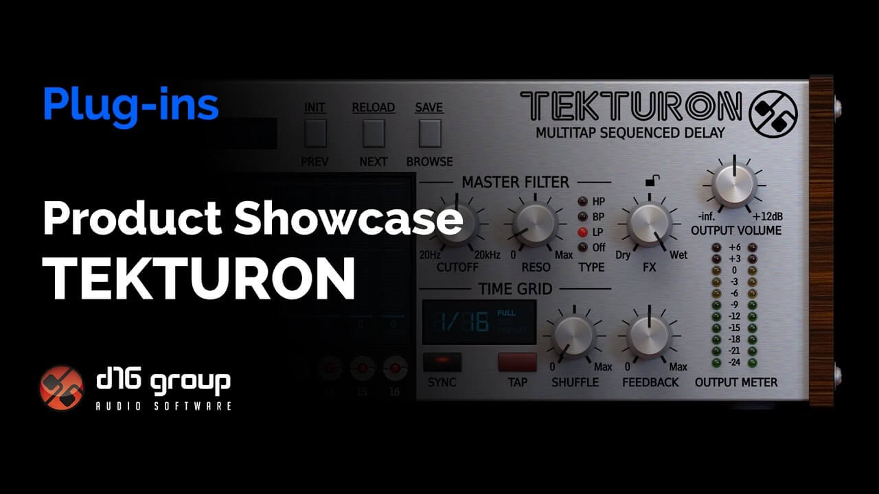 D16 Tekturon Delay - Product Showcase