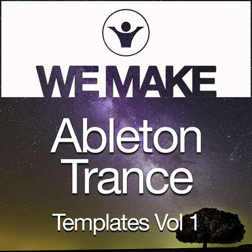 We Make Trance Ableton Templates Vol 1