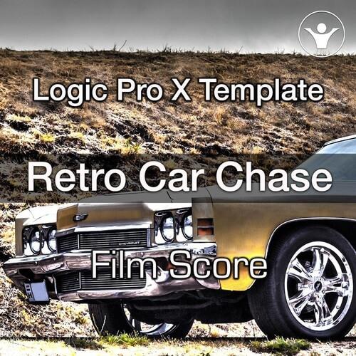 Retro Car Chase