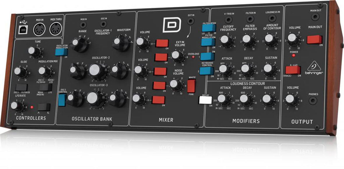 You Can Now Preorder The Behringer D Analog Synth