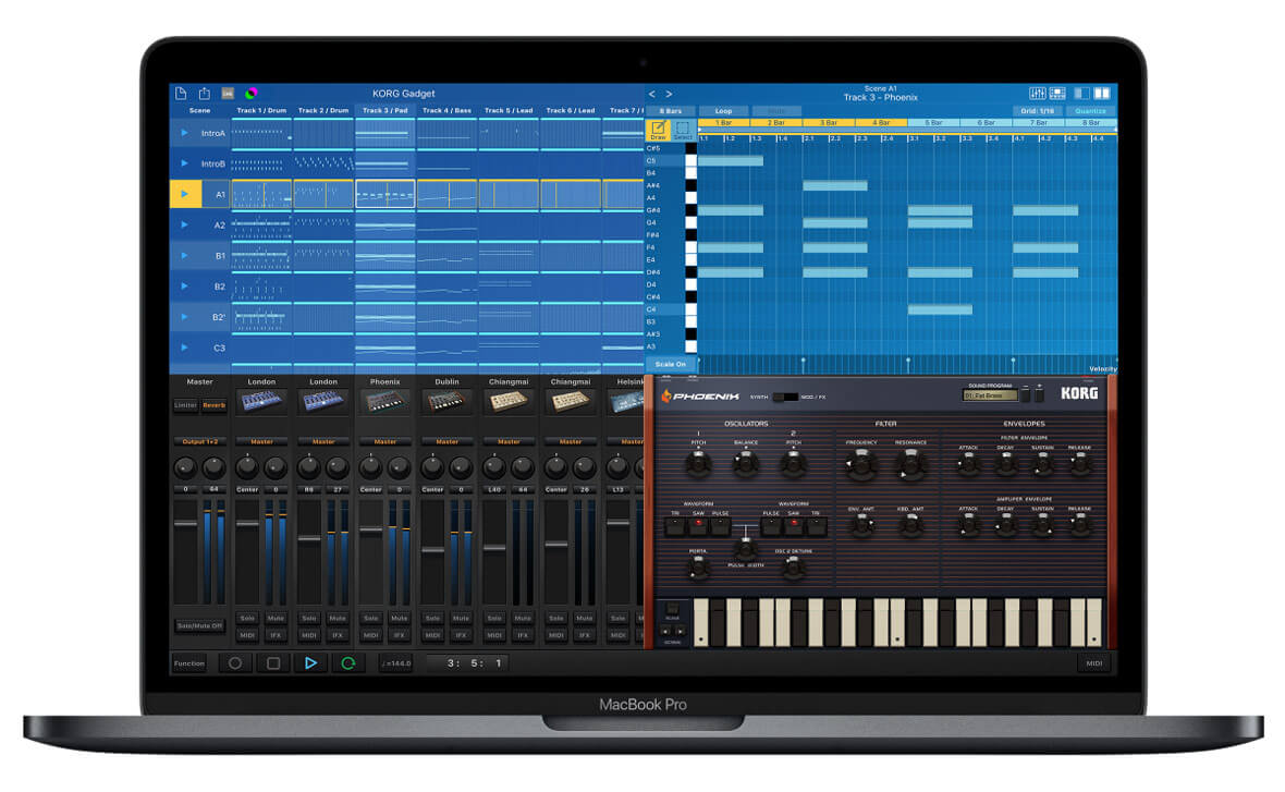 Free Version Of Korg Gadget For Mac Is Now Available