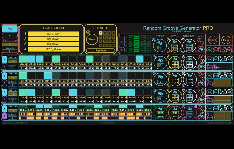 Random Groove Generator PRO