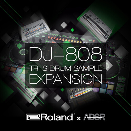DJ-808 TR-S DRUM SAMPLE EXPANSION