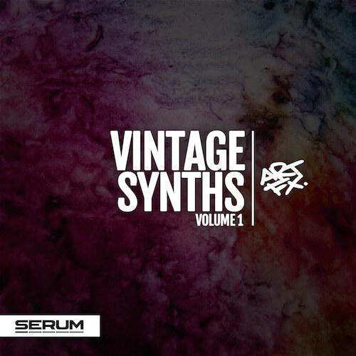 ARTFX Vintage Synths Vol.1 for Xfer Serum