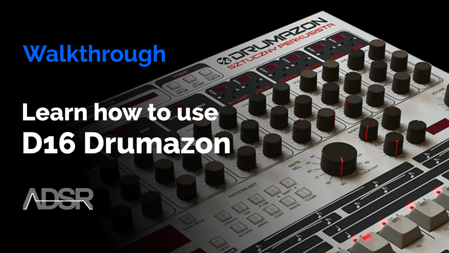 Learn how to use D16 Drumazon