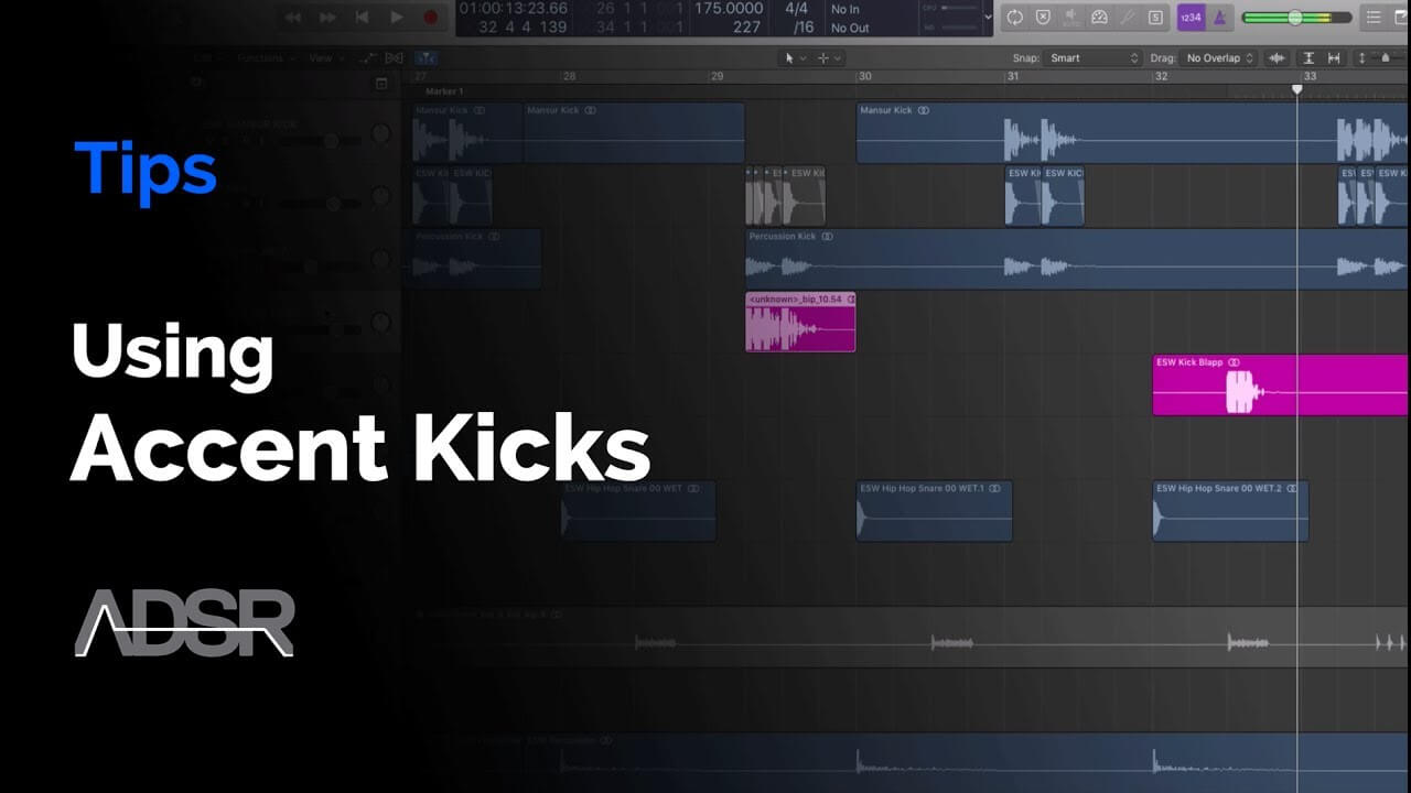 Using Accent Kicks