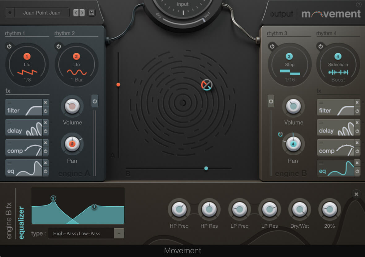 MOVEMENT, Rhythmic Modulation Plugin From Output, Is Updated To V1.1