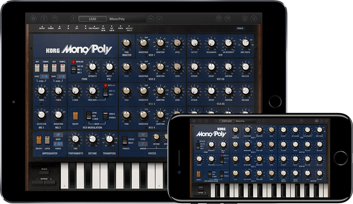 Korg Revives Vintage Mono/Poly Synth In New iOS App