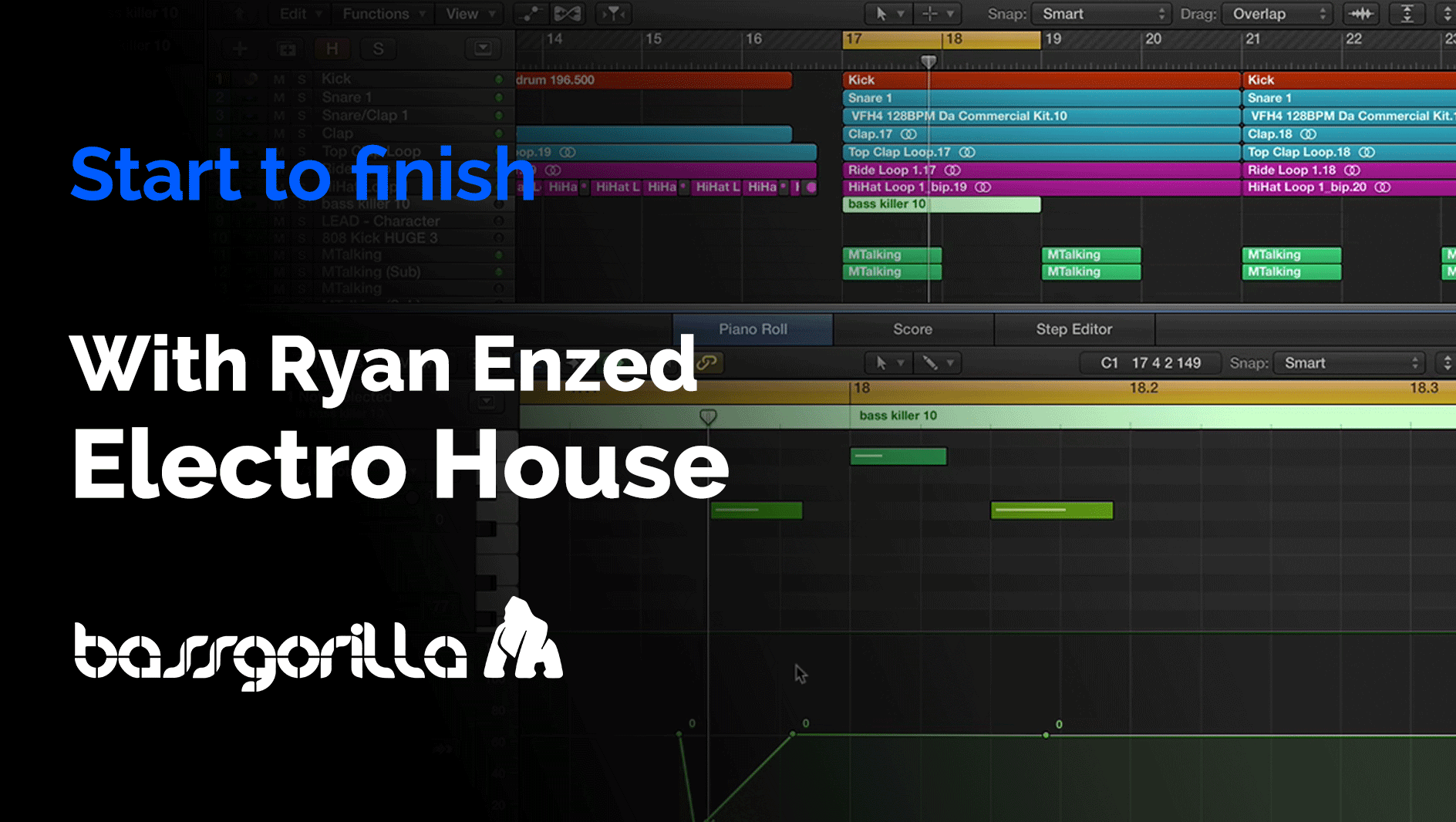 Electro House: Start To Finish With Ryan Enzed