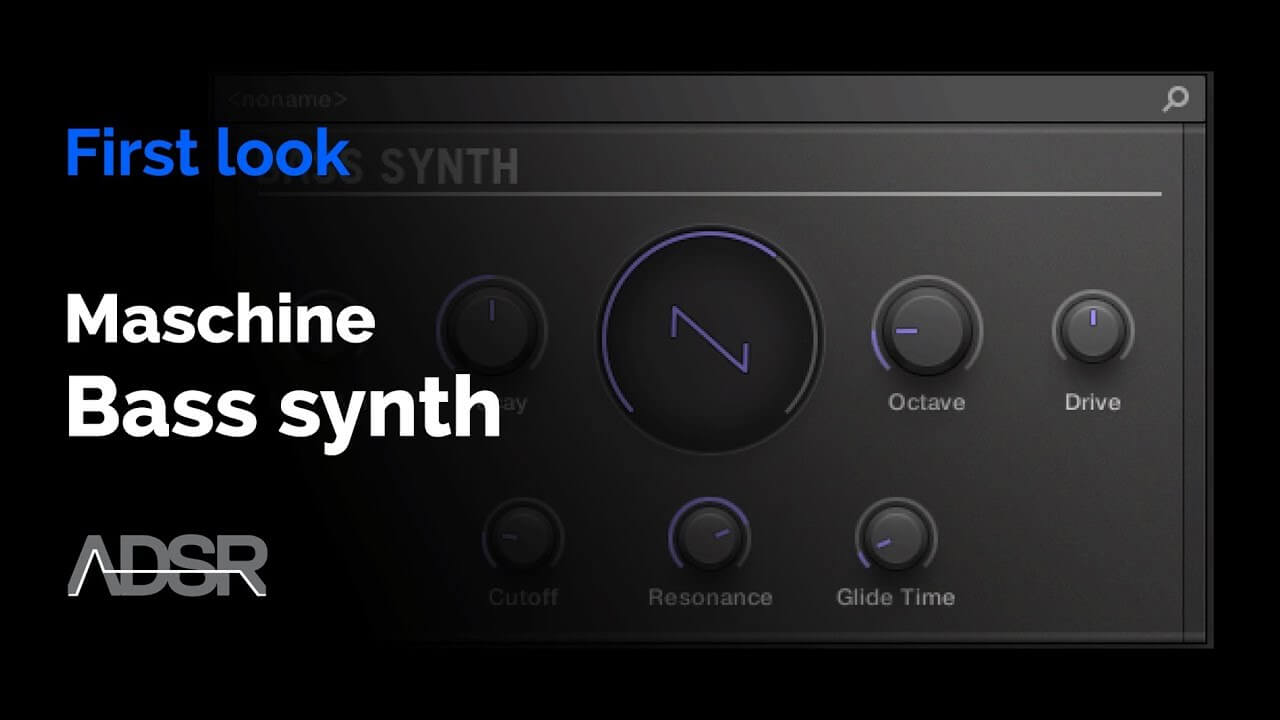 Maschine - Bass Synth : First Look