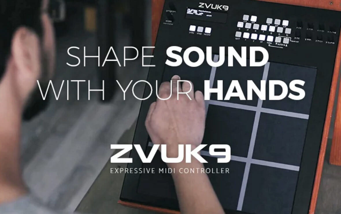 The Zvuk9 Expressive MIDI Controller Has Launched On Indiegogo
