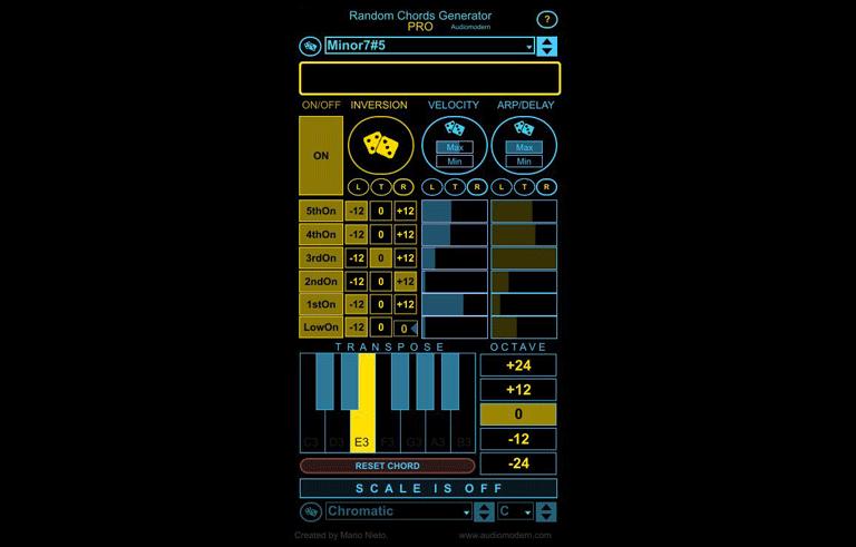 Random Chords Generator PRO