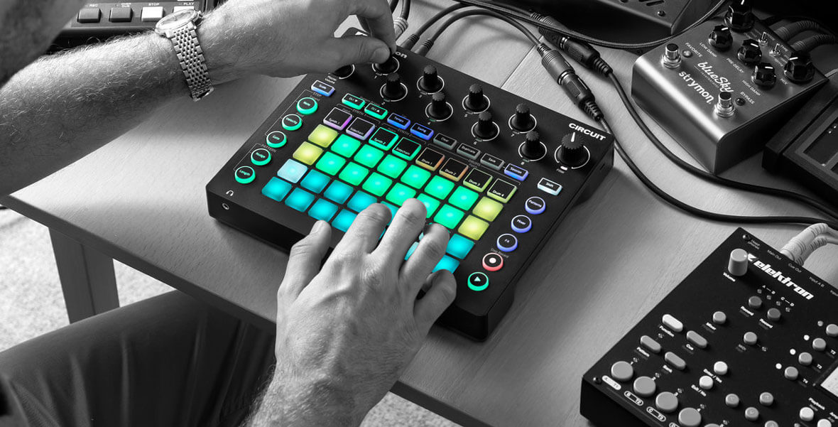 Novation Circuit 1.6 Update Introduces Panning, Drum Micro Steps and More