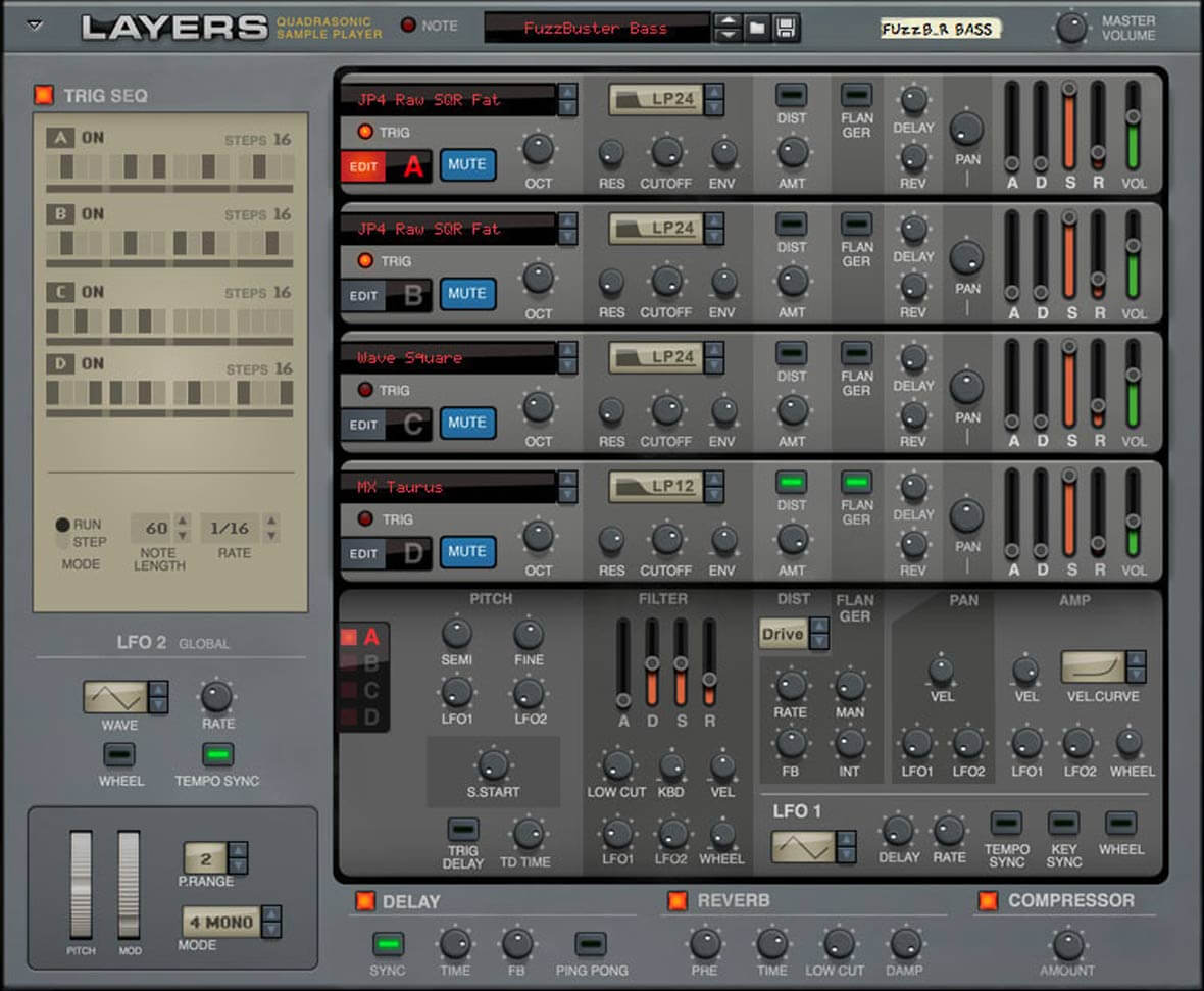 Propellerhead Releases Layers, Rack Extension That Samples 80s and 90s Synthesizers