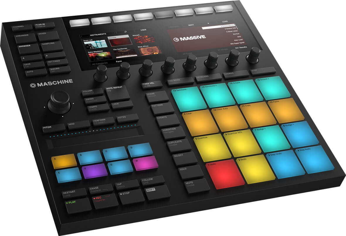 Native Instruments Unveils MASCHINE MK3