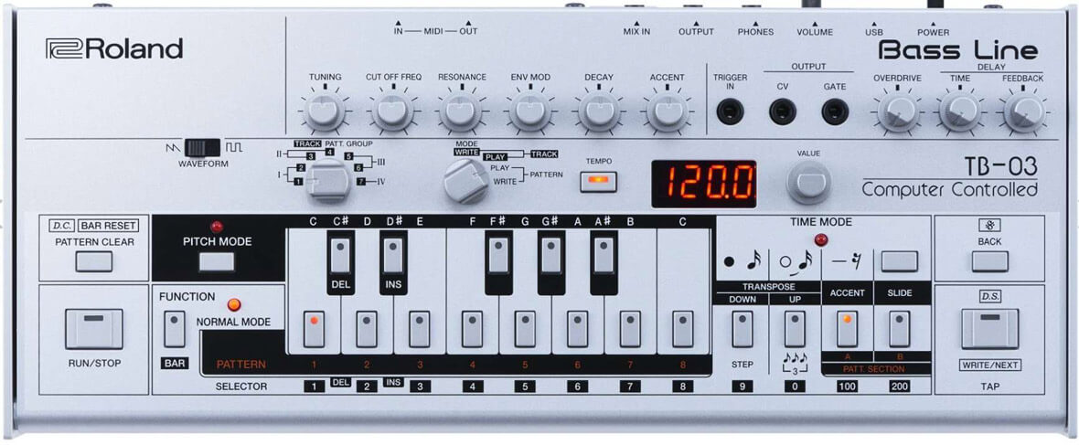 This VST Lets You To Automate Parameters On The Roland TB-03