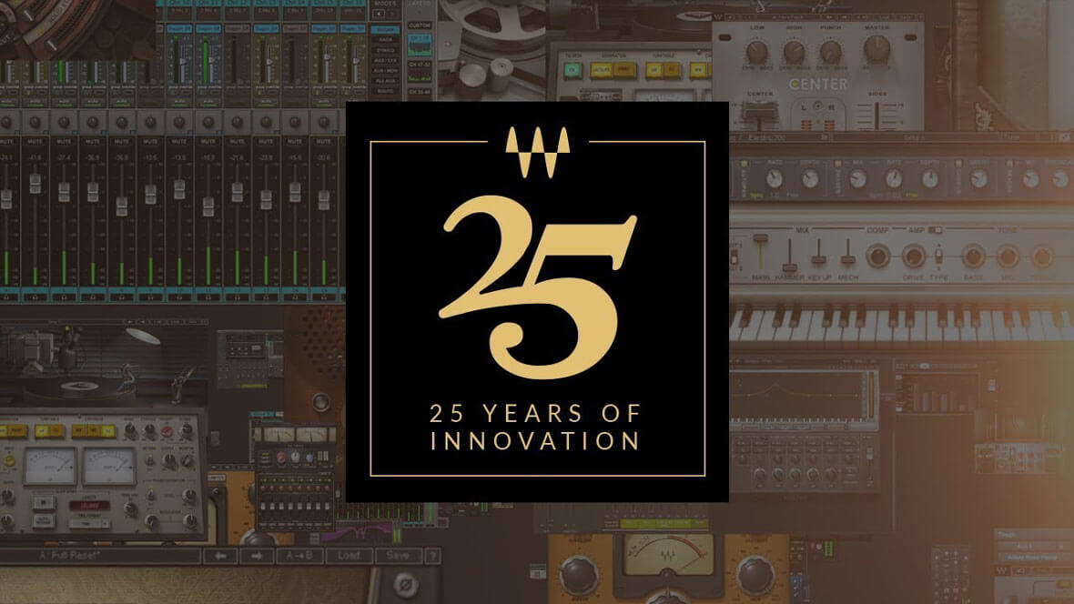 Waves Celebrates 25th Year Anniversary By Revamping Three Classic Plugins