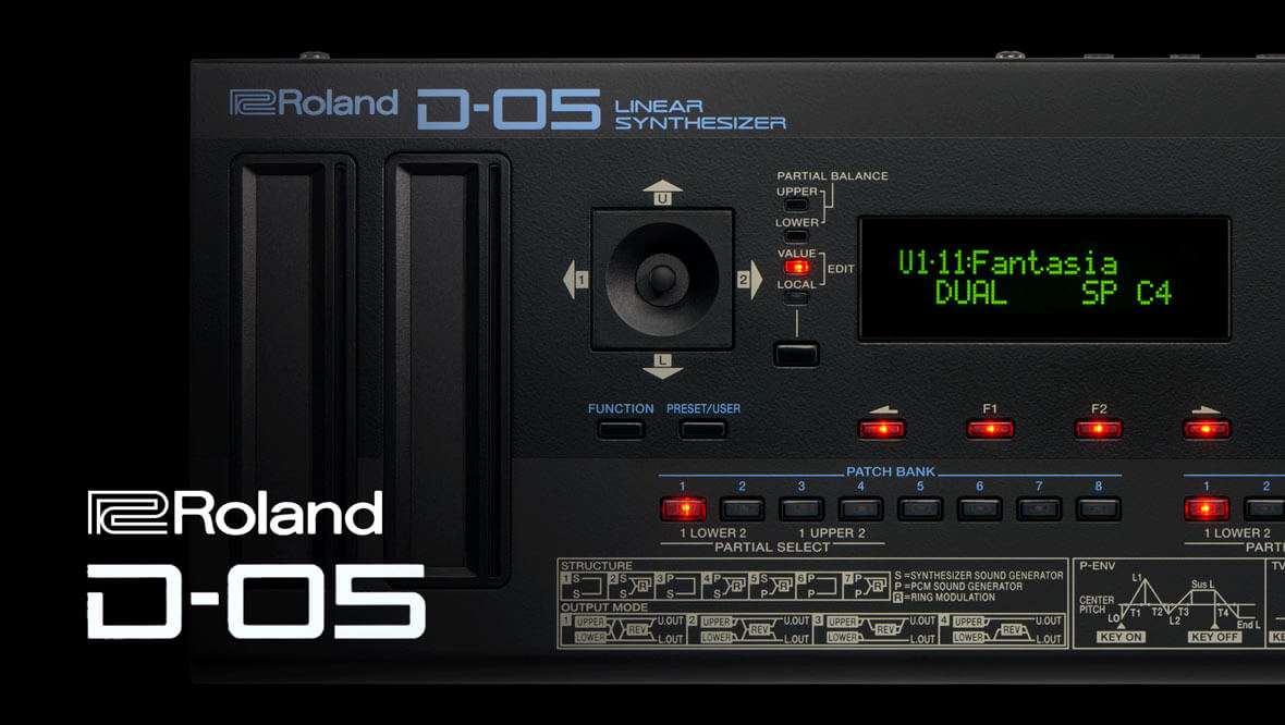 Roland Announces The D-05 Linear Synthesizer, Emulation Of Classic D-50