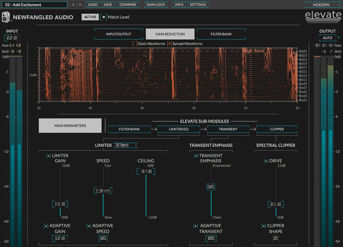 Elevate Is A New Mastering Limiter Plugin That Helps Boost Loudness