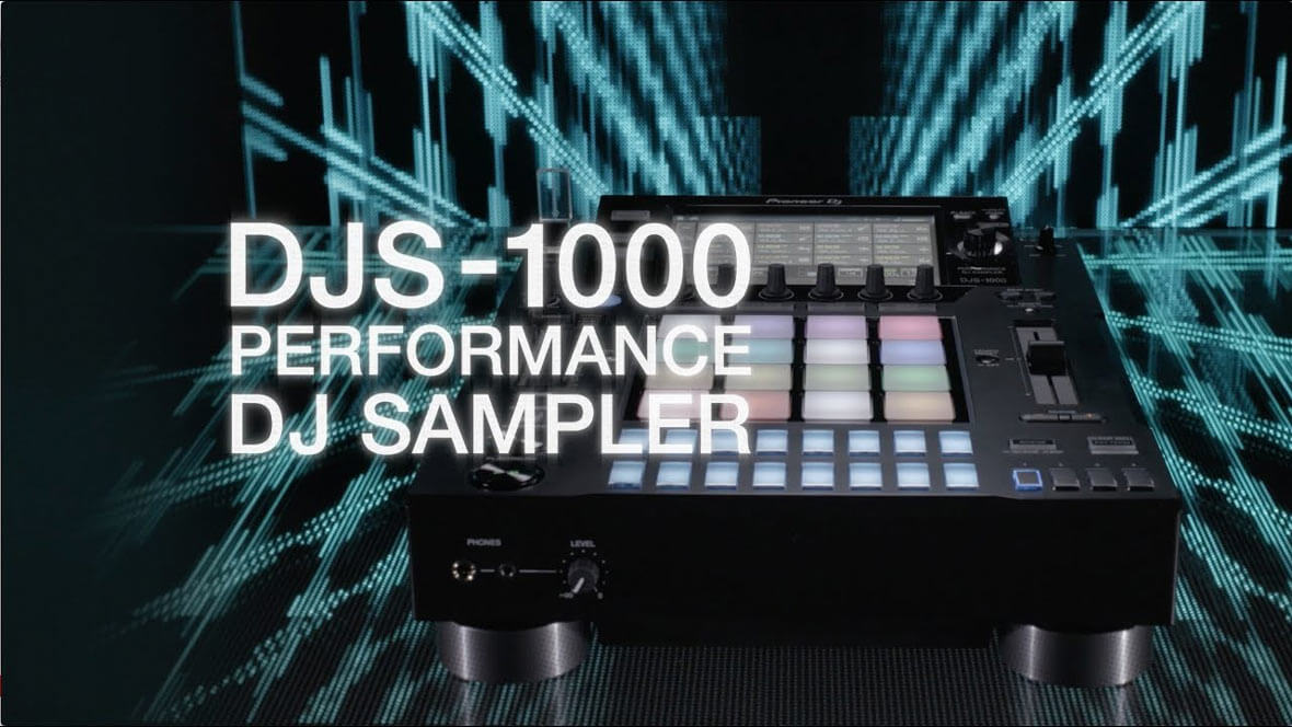 Pioneer DJ Announces The DJS-1000 DJ Sampler