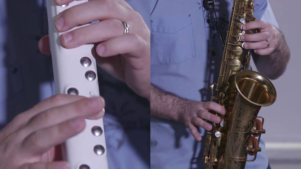 The Vindor ES1 Is An Electronic Saxophone and MIDI Controller