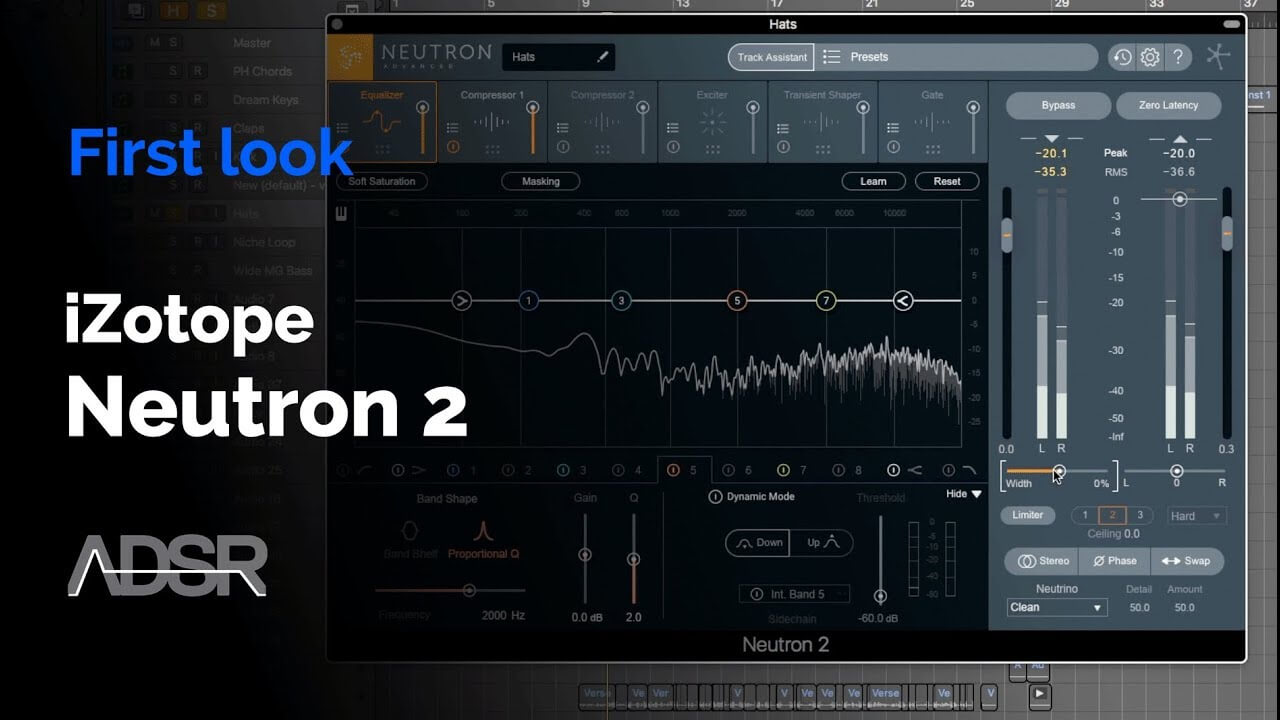 iZotope Neutron 2 - First Look