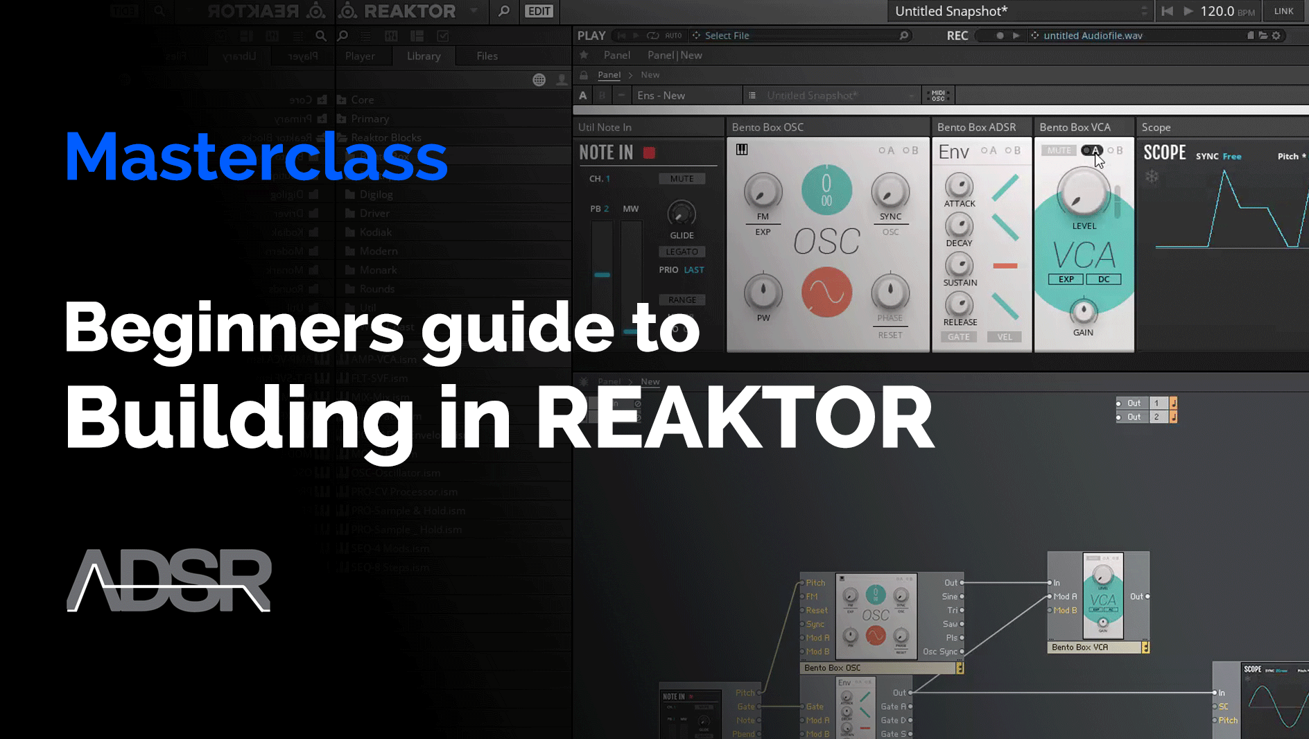 Building in Reaktor for Beginners