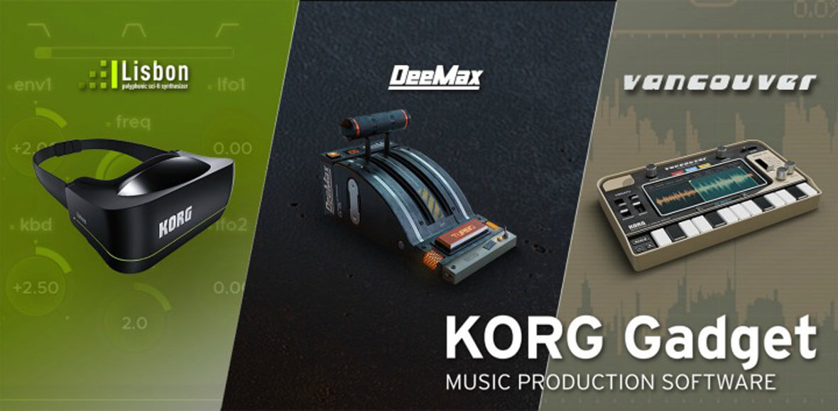 KORG Updates Gadget With Three New Gadgets, NKS Support